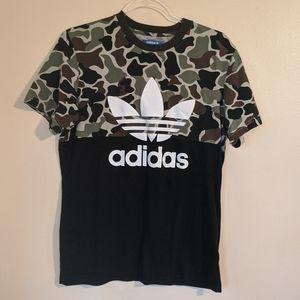 Adidas camo tee shirt
